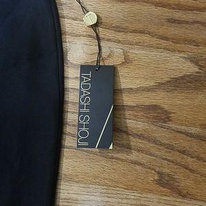 Tadashi Shoji pencil skirt black Sz 10 nwt